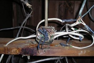 older electrical wiring