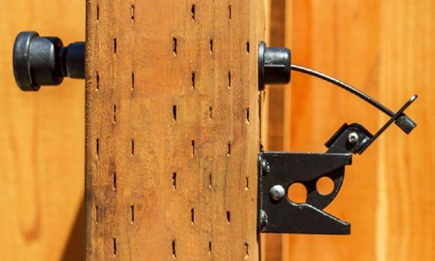 Fix a Gate Latch