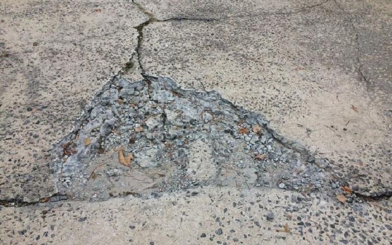 Repair Cracks in Walkways and Driveways