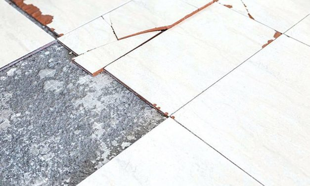 How to replace broken tiles